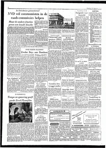 Rotterdamsch Parool / De Schiedammer 1955-09-24