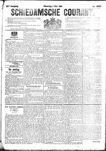 Schiedamsche Courant 1916-05-01