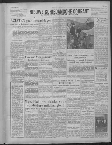 Nieuwe Schiedamsche Courant 1949-01-03