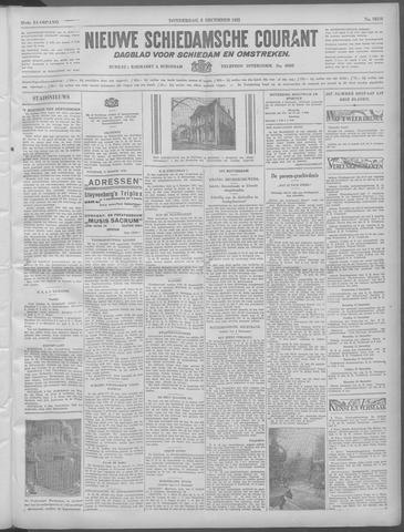 Nieuwe Schiedamsche Courant 1932-12-08