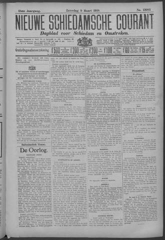 Nieuwe Schiedamsche Courant 1918-03-09