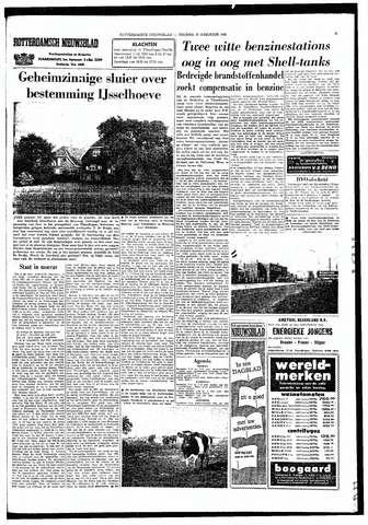 Rotterdamsch Nieuwsblad / Schiedamsche Courant / Rotterdams Dagblad / Waterweg / Algemeen Dagblad 1966-08-12