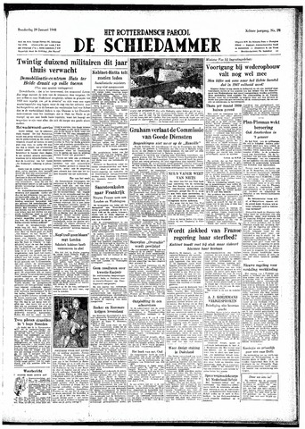 Rotterdamsch Parool / De Schiedammer 1948-01-29
