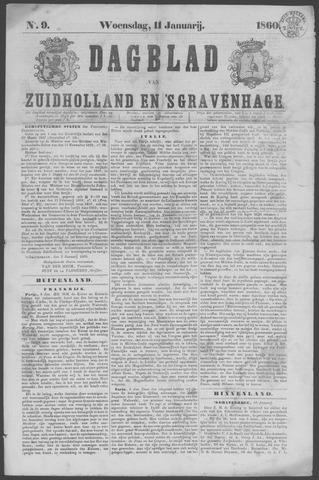 Dagblad van Zuid-Holland 1860-01-11