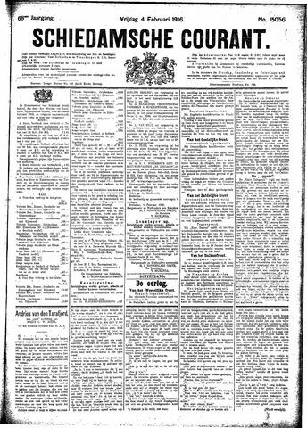 Schiedamsche Courant 1916-02-04