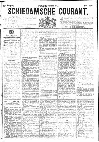 Schiedamsche Courant 1910-01-28