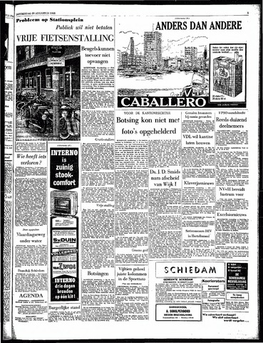Rotterdamsch Parool / De Schiedammer 1963-08-29