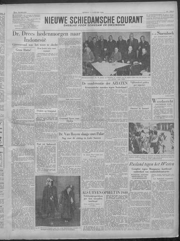 Nieuwe Schiedamsche Courant 1949-01-04