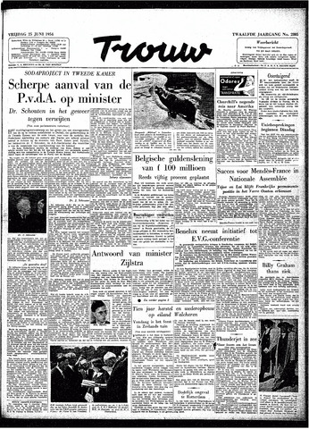 Trouw / De Rotterdammer 1954-06-25