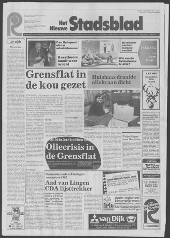 Het Nieuwe Stadsblad 1981-12-11