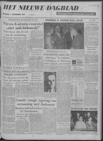 Nieuwe Schiedamsche Courant 1961-11-07