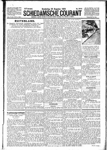 Schiedamsche Courant 1929-08-29