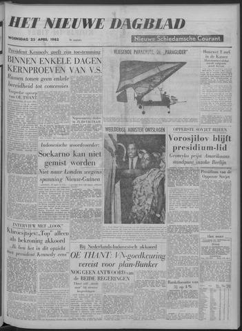 Nieuwe Schiedamsche Courant 1962-04-25