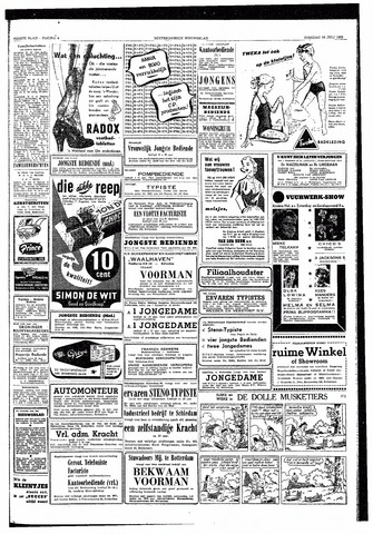 Rotterdamsch Nieuwsblad / Schiedamsche Courant / Rotterdams Dagblad / Waterweg / Algemeen Dagblad 1953-07-28