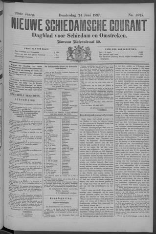 Nieuwe Schiedamsche Courant 1897-06-24