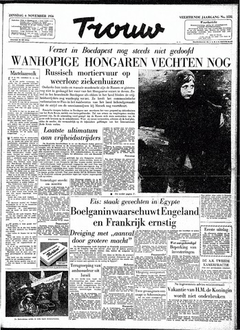 Trouw / De Rotterdammer 1956-11-06
