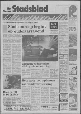 Het Nieuwe Stadsblad 1985-12-06