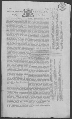 Rotterdamse Courant 1826-05-09