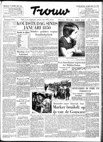 Trouw / De Rotterdammer 1956-02-17