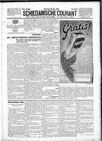 Schiedamsche Courant 1935-07-09