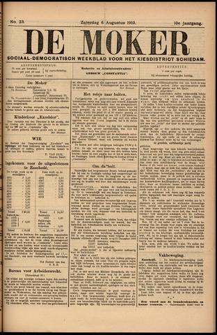 De Moker 1910-08-06