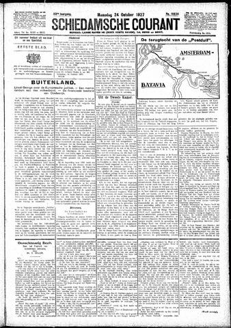 Schiedamsche Courant 1927-10-24