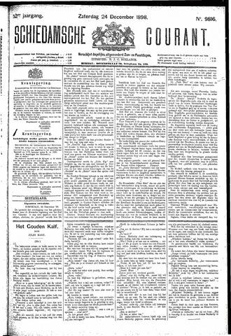 Schiedamsche Courant 1898-12-24