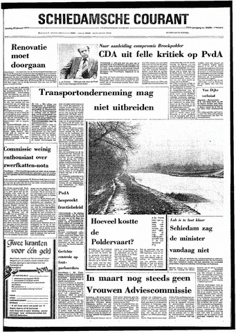 Rotterdamsch Nieuwsblad / Schiedamsche Courant / Rotterdams Dagblad / Waterweg / Algemeen Dagblad 1979-01-23