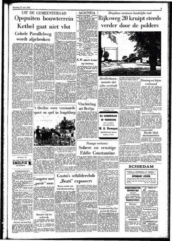 Rotterdamsch Parool / De Schiedammer 1961-05-27