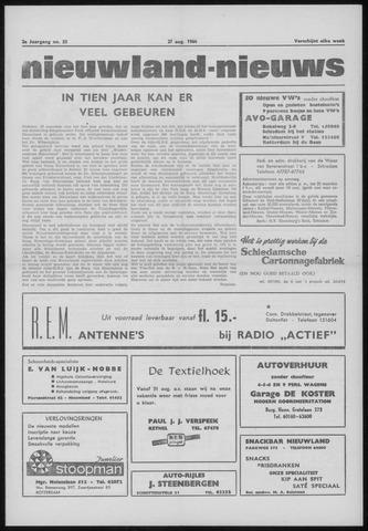 Nieuwland Nieuws 1964-08-27