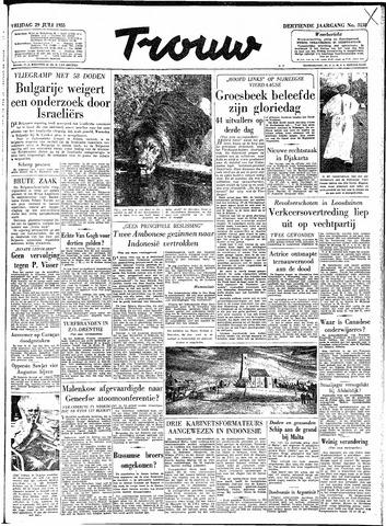 Trouw / De Rotterdammer 1955-07-29