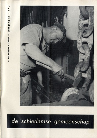 Schiedamse Gemeenschap (tijdschrift) 1960-11-01