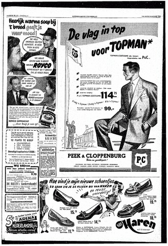 Rotterdamsch Nieuwsblad / Schiedamsche Courant / Rotterdams Dagblad / Waterweg / Algemeen Dagblad 1953-03-13