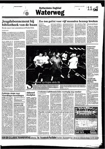 Rotterdamsch Nieuwsblad / Schiedamsche Courant / Rotterdams Dagblad / Waterweg / Algemeen Dagblad 1998-11-05