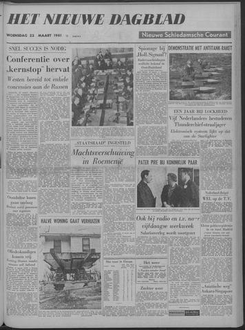 Nieuwe Schiedamsche Courant 1961-03-22