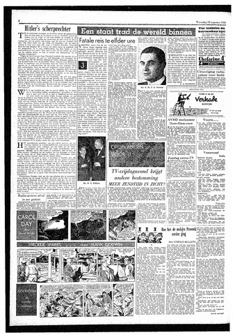 Rotterdamsch Parool / De Schiedammer 1959-08-12