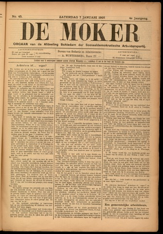 De Moker 1905