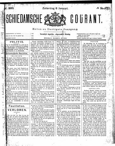 Schiedamsche Courant 1883-01-06