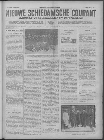 Nieuwe Schiedamsche Courant 1929-02-18