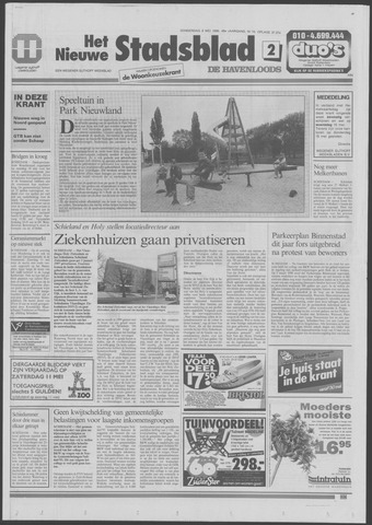 Het Nieuwe Stadsblad 1996-05-09