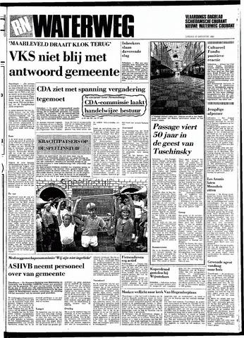 Rotterdamsch Nieuwsblad / Schiedamsche Courant / Rotterdams Dagblad / Waterweg / Algemeen Dagblad 1983-08-23