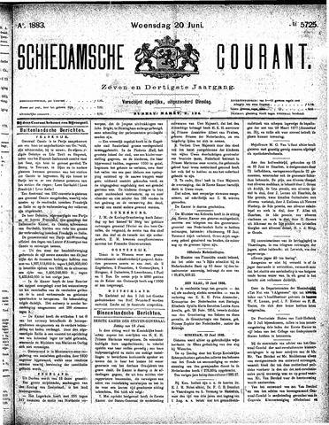 Schiedamsche Courant 1883-06-20