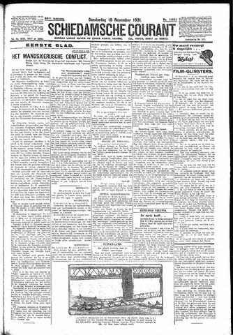 Schiedamsche Courant 1931-11-19