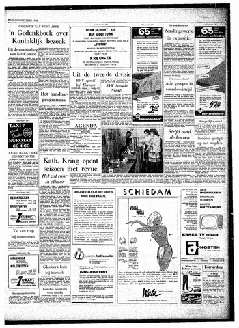 Rotterdamsch Parool / De Schiedammer 1962-10-05