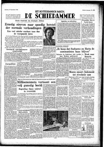 Rotterdamsch Parool / De Schiedammer 1948-09-21