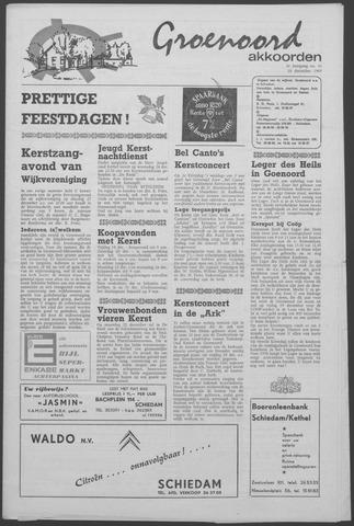 Groenoord Akkoorden 1969-12-18