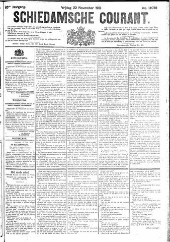 Schiedamsche Courant 1912-11-22