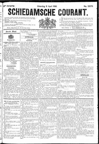 Schiedamsche Courant 1910-04-09