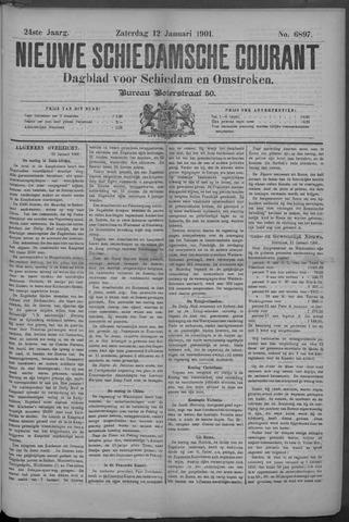Nieuwe Schiedamsche Courant 1901-01-12