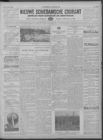 Nieuwe Schiedamsche Courant 1933-01-12